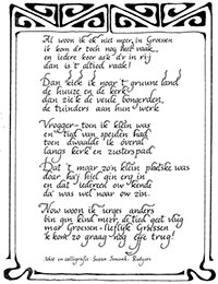 Gedicht over Groessen small